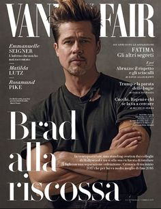 Brad Pitt for Vanity Fair Italia January 26, 2017