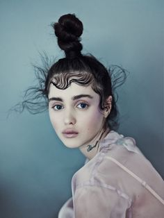 visual optimism; fashion editorials, shows, campaigns & more!: purity: aliya galyautdinova by nicolas guerin for schön!