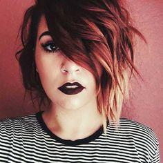 11.Kurz Haarfarbe Idee