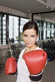 Working out with a punching bag can give you a full upper-body workout. Training some intense combinations on the heavy bag can give your entire body a workout by building muscle, reducing fat and increasing cardiovascular endurance. You may even get some benefits from boxing that you wouldn't expect.