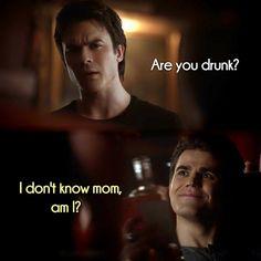 Você esta bêbado?? Eu não sei,mãe,eu estou?? Hahahha