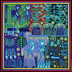 Indigo Galeria de Artes  Huichol indiano