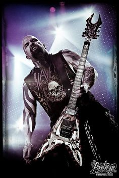 Kerry King of SLAYER (2008) by THE PIXELEYE // Dirk Behlau, via Flickr