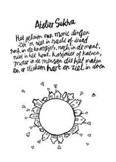 Mooie woorden van Atelier Sukha