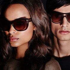 Signature T icon sunglasses for him and her. #TOMFORD