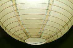 lámpara de papel con waqshi tape DIY