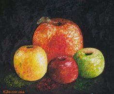 Four Apples by Kimberly Davison