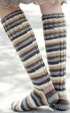 Nordic Yarns and Design since 1928 Crochet Socks, Knitting Socks, Hand Knitting, Knitting Patterns, Knit Crochet, Crochet Patterns, Sexy Socks, Thigh High Socks, Knitting Accessories