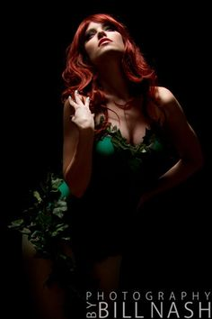 Dc Comics, Batman. Character: Poison Ivy. . Cosplayer: Katy Mor 'aka' AZ Huntress. From: Arizona, US. Couture: Maise Designs. Event: Pop Culture 2011. Photo: Bill Nash 2012.