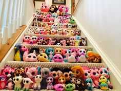 I wish I had that many beanie boos