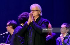Actor/musician <a gi-track='captionPersonalityLinkClicked' href=/galleries/search?phrase=Tim+Robbins&family=editorial&specificpeople=182439 ng-click='$event.stopPropagation()'>Tim Robbins</a> performs osntage during The David Lynch Foundation's DLF Live Celebration of the 60th Anniversary of Allen Ginsberg's 'HOWL' with Music, Words, and Funny People at The Theatre at Ace Hotel on April 7, 2015 in Los Angeles, California.