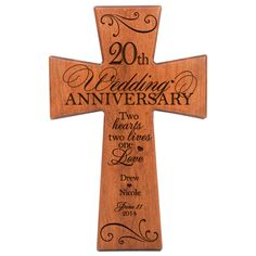 31 Good 20th Wedding Anniversary Gift Ideas For Him & Her ...