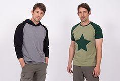 von pattydo Männer-Raglanshirt Raglan Shirts, Couture, Sewing Patterns, Sewing Ideas, Toms, Mens Tops, How To Make, Men Clothes, Diy