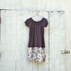 Funky Earthy Tank Dress / Eco Dress / Tattered Artsy by CreoleSha, $64.99