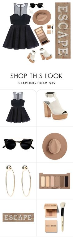 """Somewhere Only We Know"" by paris4evs ❤ liked on Polyvore featuring Bebe, Rebecca Minkoff, Satya Twena, Urban Decay, Pier 1 Imports and Bobbi Brown Cosmetics"
