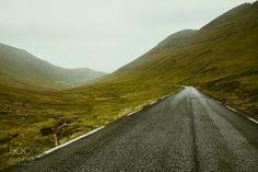 Way,Faroe islands. - Way,Faroe islands.