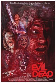 Evil Dead Movie Poster Photo Mug Hot Cocoa Gift Basket