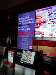 Find Beretta at Hero Certified Burgers!