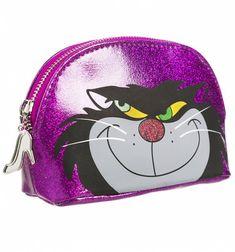 Disney Cinderella Lucifer Glitter Wash Bag from Danielle Nicole