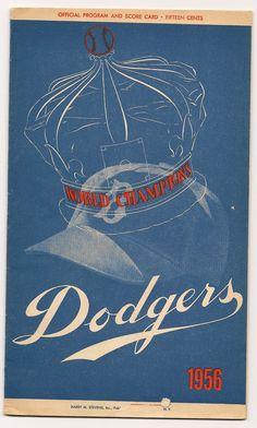 Brooklyn Dodgers World Champions