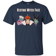 Maleficent Disney: Resting Witch Face Halloween T-Shirts, Hoodies, Tank. Disney witch in Halloween holliday. Get yours shirt now. T-Shirts, Tank Top, Hoodies available.