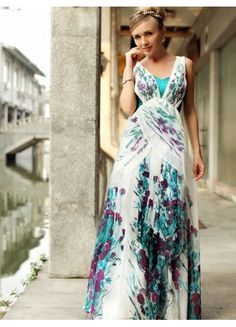 Dress with beautiful design and colors