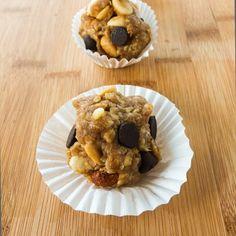 No Bake Chunky Monkey Cookie Dough Bites by Katy's Kitchen