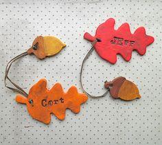 autumn place cards