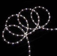 150 commericial grade purple led indooroutdoor christmas rope 18 pure white led indooroutdoor christmas rope lights want additional info click mozeypictures Choice Image