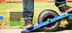なめらかな滑走で街を走り抜ける 電動スケートボード「Onewheel」