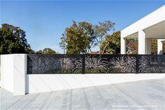 decorative fence 'Grass Tree' Fence Gate Design, Balcony Railing Design, Front Gate Design, House Gate Design, Screen Design, Living Room Partition Design, Room Partition Designs, Front Gates, Front Fence