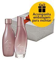 Presente Natura Luna Rosé - Desodorante Colônia + Óleo  Corporal + Embalagem  Desmontada R$124,00 http://rede.natura.net/espaco/novo