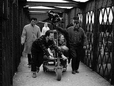 Sur le tournage de Jules et Jim, 1961 . Vue 593 de la planche contact