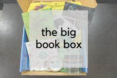 The Big Book Box September Unboxing