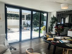 New Double Door Retractable Screens installed by Classic installer, Oscar, in Los Angeles, California! You know a the Retractable Screen color match is good when you can't even tell the housing apart from the actual door frame! Are you looking for Retractable Screens for your own home? Visit www.chiproducts.com or call (866) 567-0400 today for a free estimate. Retractable Screen Door, Pull Bar, Screen Doors, Closet Doors, Double Doors, Shutters, French Doors, Interior And Exterior, California