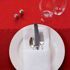 Dress up your table with these easy napkin designs.