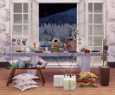 Sims 4 CC's - The Best: Christmas Decor Conversions by DreamteamSims