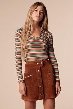 follow me @cushite Brady Bunch Rainbow Shirt – Stoned Immaculate Vintage