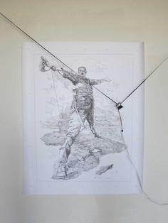 Con la inquietud de expresar y recrear las imágenes provenientes de su imaginario, Harvey Moon diseñó una máquina que soluciona su inhabilidad en el dibujo.