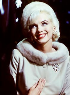 "Marilyn looking relaxed and happy on her 36th birthday, June 1st, 1962. Taken on the set of the ill-fated ""Something's Got To Give"" by Lawrence Schiller. This was Marilyn's last day on the set before production was suspended. (info courtesy original blogger)"