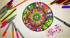#zentangle #mandala #doodle