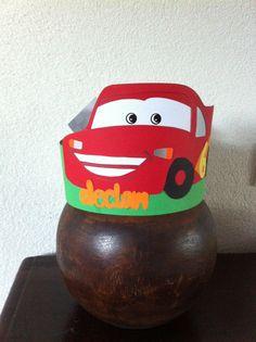 Cars verjaardagshoed