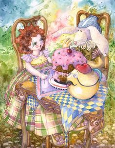 tea party......Laurel Nelson