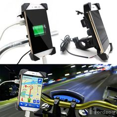 Cheap motorcycle charger, Buy Quality usb directly from China usb charger Suppliers: Universal Motorcycle Charger Handlebar Mount Phone Holder USB Charger Bike Phone Charger Holder For Honda Yamaha Kawasaki Phone Charger Holder, Cell Phone Holder, Phone Mount, Car Mount, Honda, Usb, Mobile Stand, New Motorcycles, Shopping