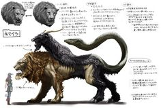 Dragon's Dogma- THESE. THINGS. The chimera.