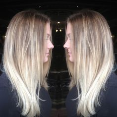 balayage platinum blonde - Google Search