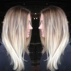 balayage platinum blonde - Google Search