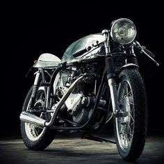 Once upon a Bike #caferacer #motorcycles #motos | caferacerpasion.com