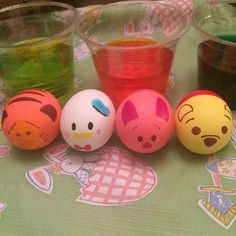 Tsum Tsum Easter eggs!