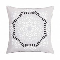 """Luhta Home """"Aika"""" -tyyny Tapestry, Throw Pillows, Black And White, Home Decor, Hanging Tapestry, Tapestries, Toss Pillows, Decoration Home, Cushions"""